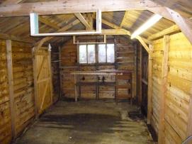 Garage, inside