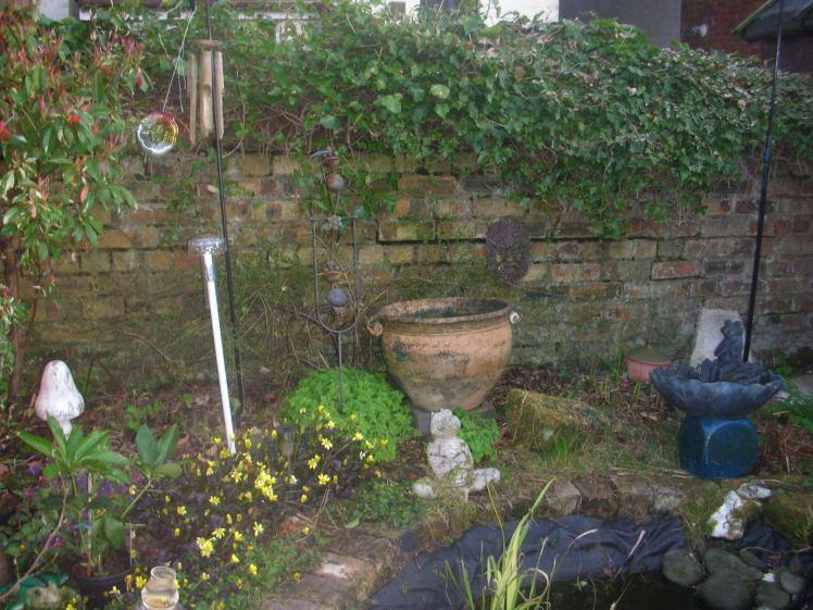 Garden, Pond, bef. 2016