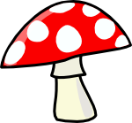 cartoon-mushroom