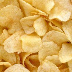 Crisps, thin sliced