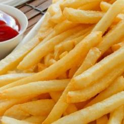 French fries, thin cut