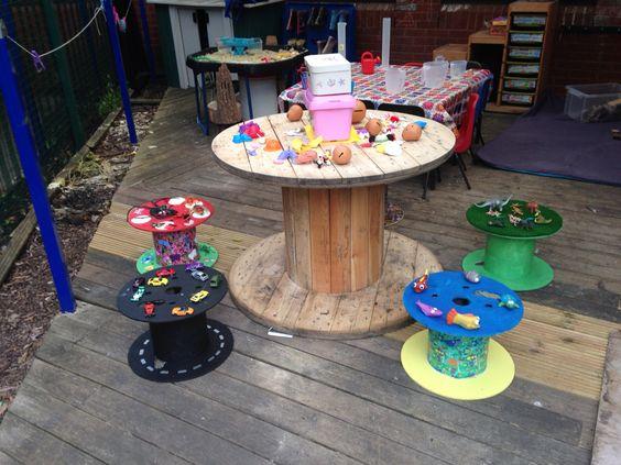 Drum furniture